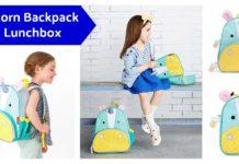 Skip Hop Zoo Kids Unicorn Backpack & Lunchbox on Amazon