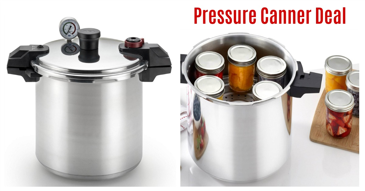 pressure canner cooker on Amazon