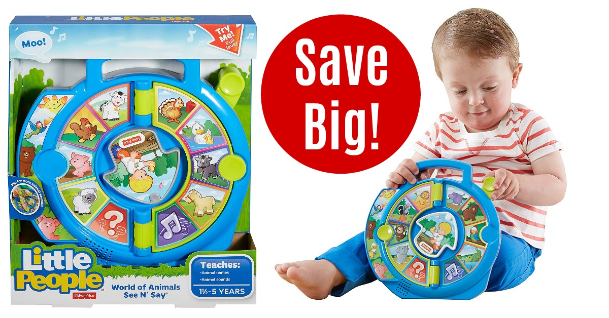 Fisher-Price Little People World of Animals See 'n Say on Amazon