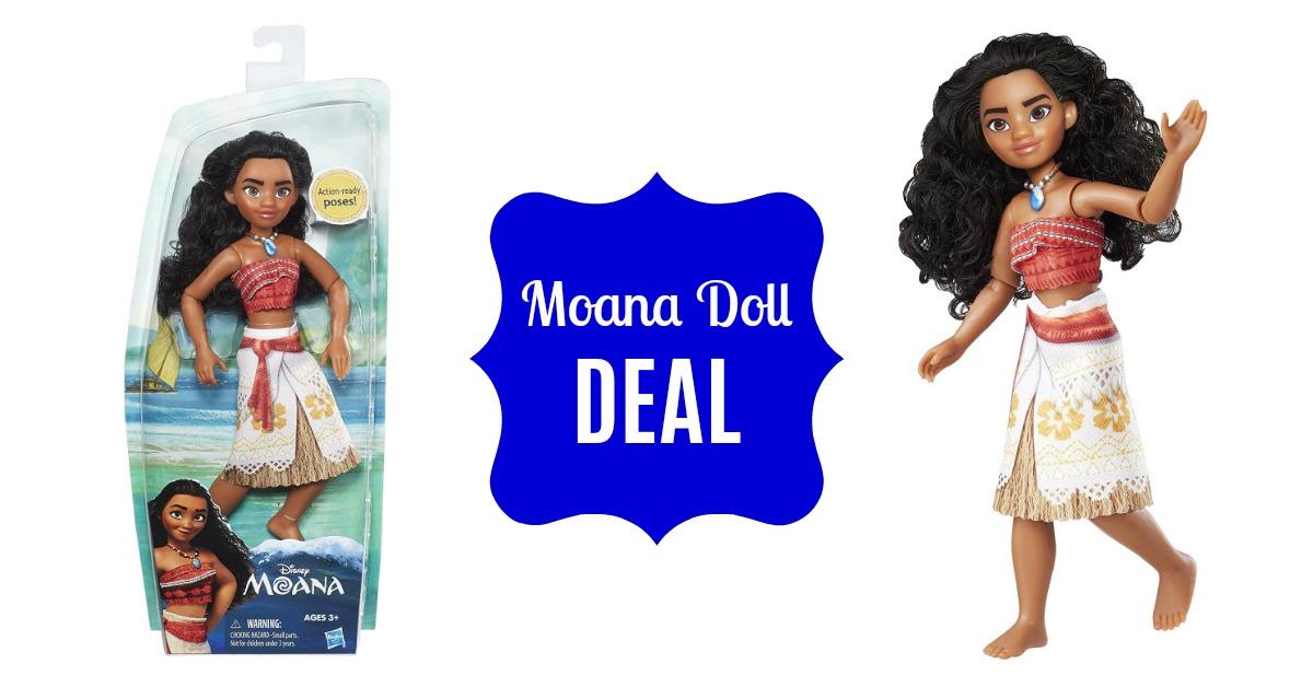 Disney Moana Doll on Amazon