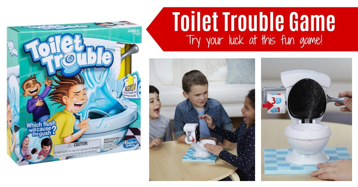 Hasbro Toilet Trouble Game on Amazon
