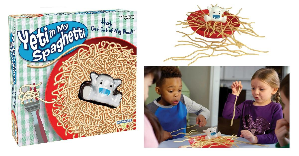 Yeti in My Spaghetti Game on Amazon