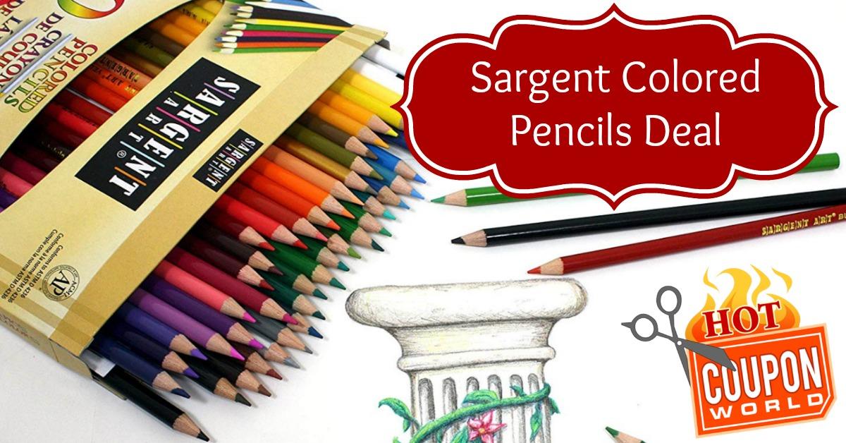 Sargent Art Premium Coloring Pencils Pack of 50 Assorted Colors 22-7251