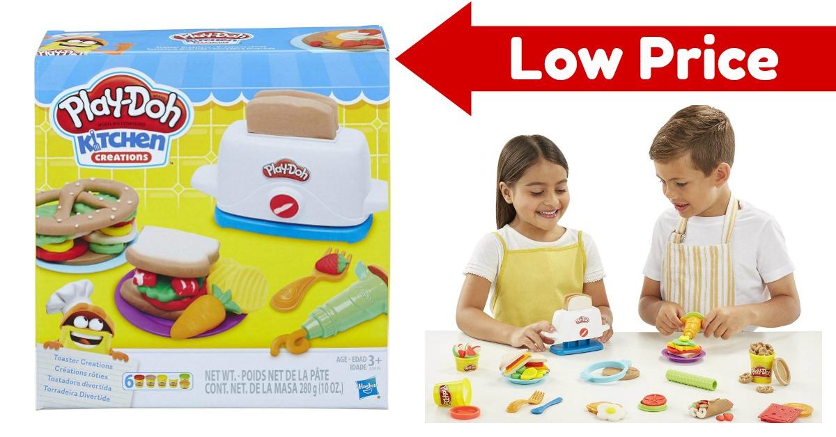 Play-Doh Kitchen Creations Toaster Play Set on Amazon