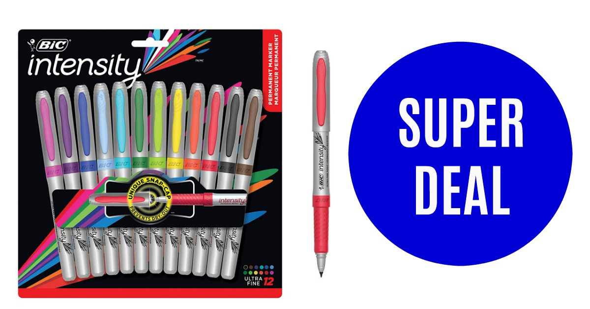 Bic Permanent Markers Ultra Fine Point Deal Hot Coupon World