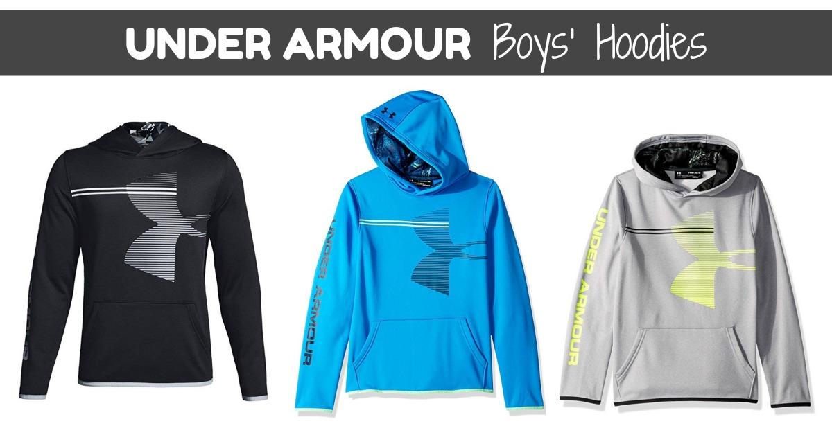 Under Armour Boys' Armour Fleece Hoodie on Amazon