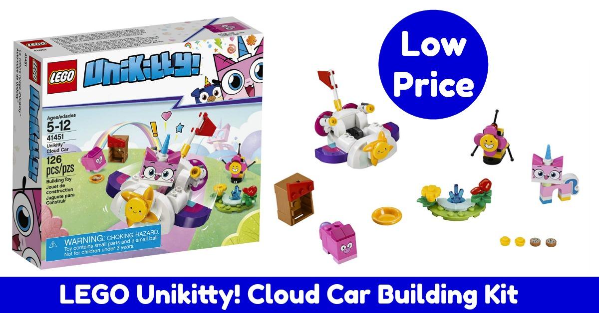 LEGO Unikitty! Cloud Car Kit (126 Piece) on Amazon