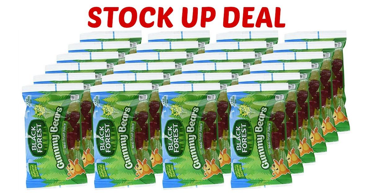 Black Forest Gummy Bears Snack Packs Deal on Amazon