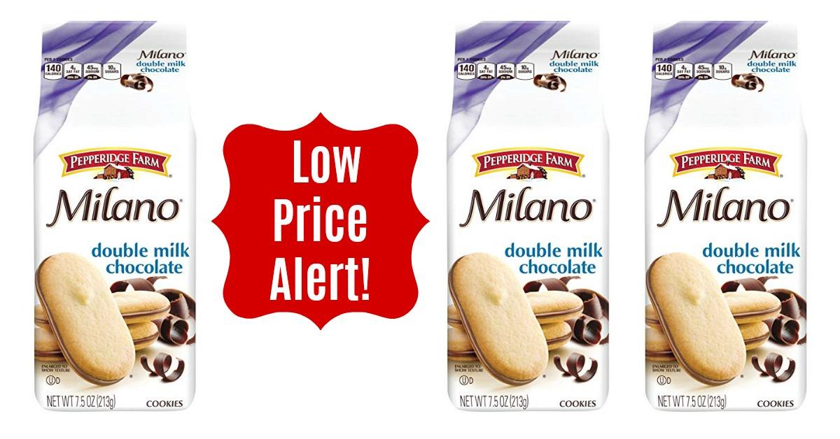Pepperidge Farm, Milano, Cookies, Double Milk Chocolate on Amazon