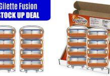 Gillette Fusion5 Men's Razor Blades, 8 Blade Refills on Amazon