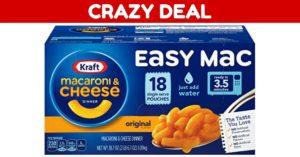 Kraft Easy MacDeal on Amazon
