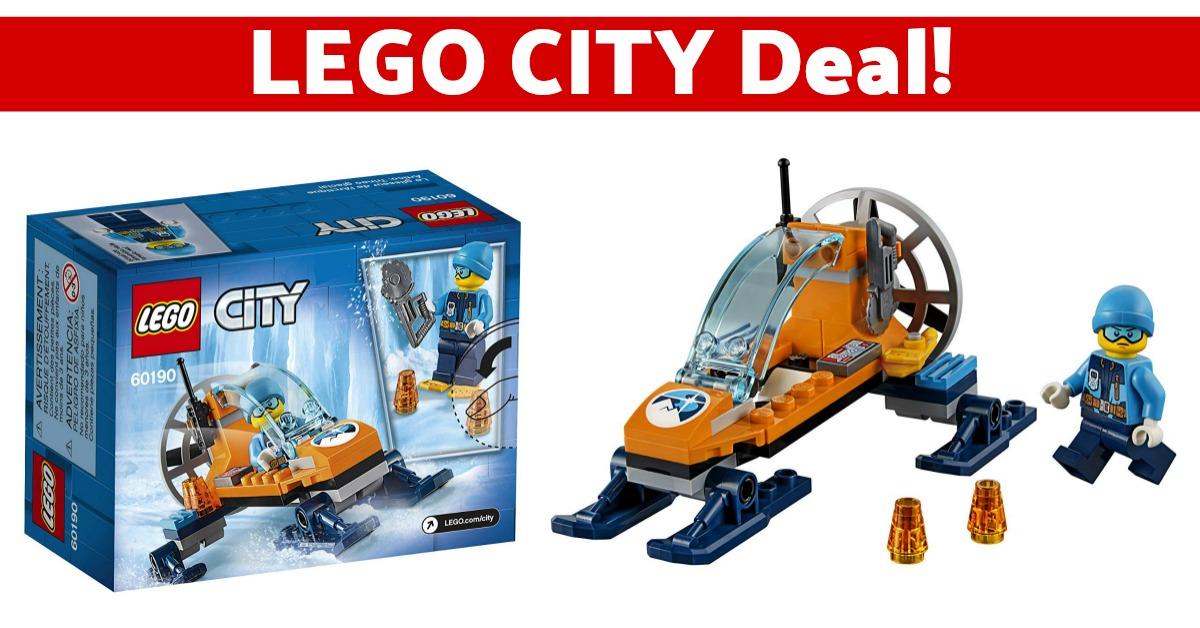 LEGO City Arctic Ice Glider Building Kit on Amazon