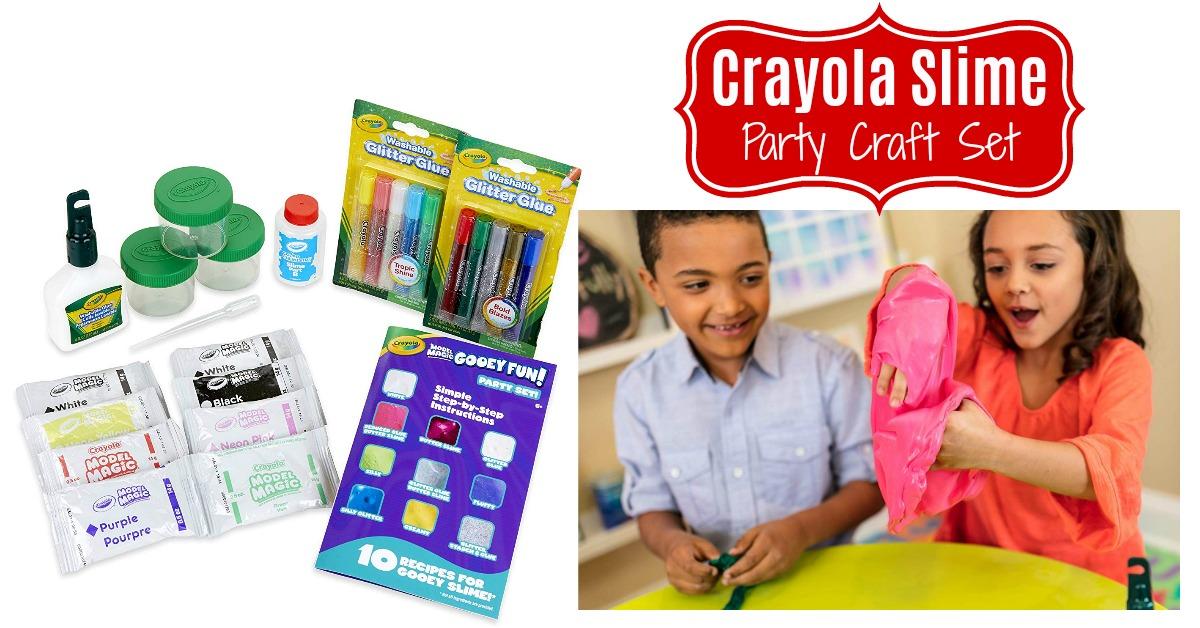 Crayola Model Magic Gooey Fun! Party Kit, Slime Supplies on Amazon