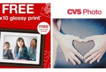 CVS photo Coupons Deal free 8x10 print