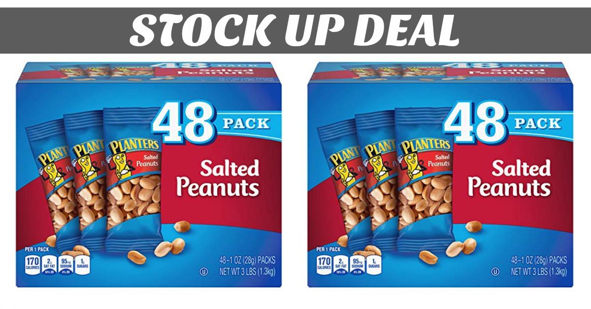 Planters Peanuts Deal on Amazon