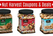 Nut Harvest coupons on Amazon