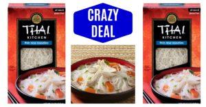 Thai Kitchen Gluten Free Thin Rice Noodles on Amazon