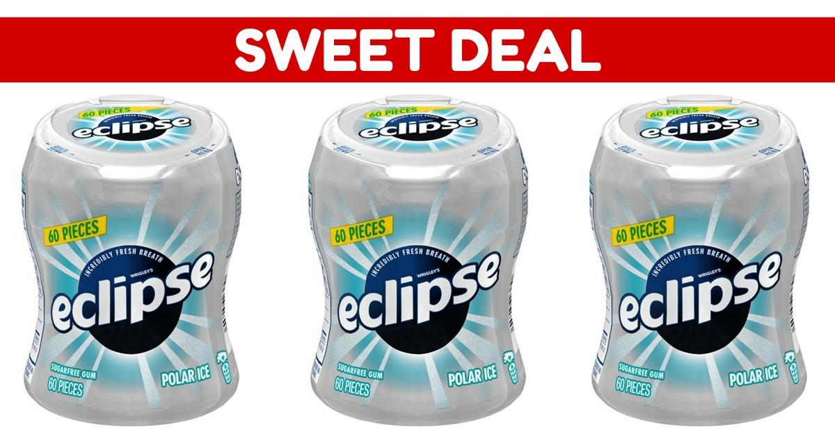 Eclipse Polar Ice Sugarfree Gum (4 Bottles) on Amazon