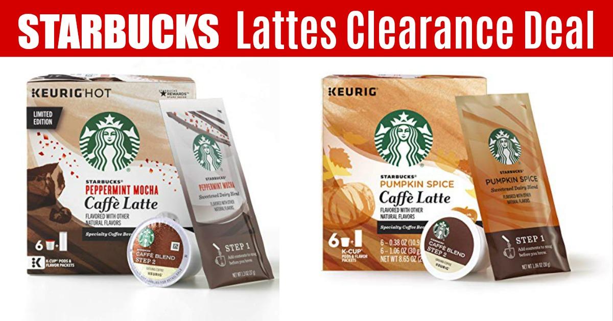 Starbucks Caffe Latte Kits Pumpkin Spice Lattes