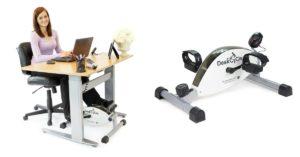 DeskCycle Under Desk Exercise Bike & Pedal Exerciser on Amazon