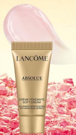 free sample lancome absolue