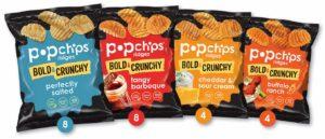 Popchips Ridged Potato Chips, Variety Pack on Amazon