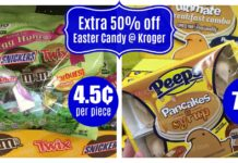 Easter Candy Coupon Deals at Kroger