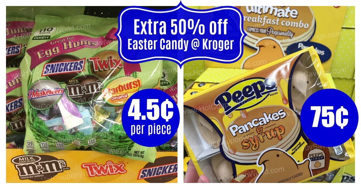 Super Kroger Easter Sale 50 Off Candy Home Merchandise 4 Days Complete Home Design Collection Epsylindsey Bellcom
