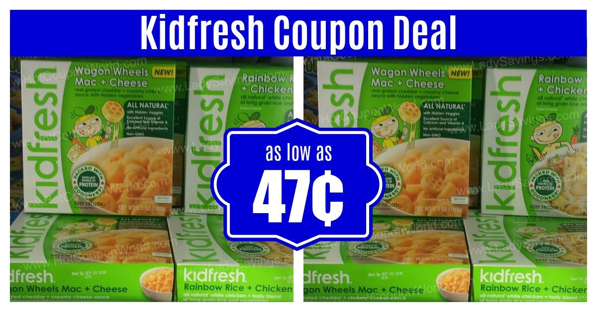 Kidfresh Coupons Deal at Kroger Clicklist