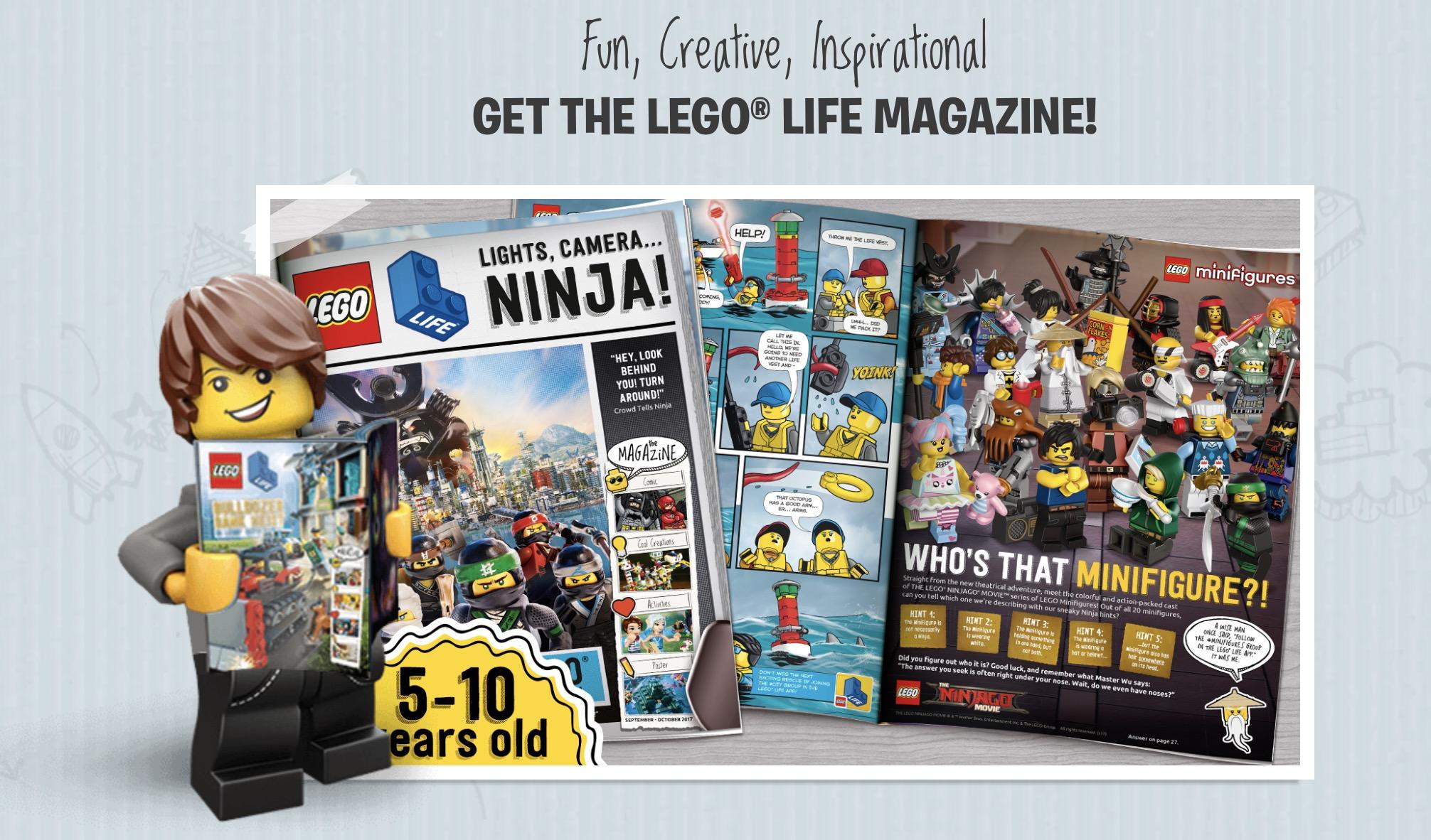 Subscription to LEGO Magazine! FREE