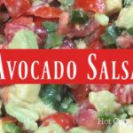 Avocado Salsa Facebook