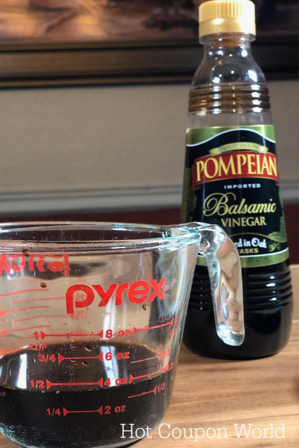 Balsamic Glaze Recipe Vinegar Ingredient