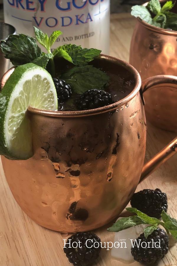 Blackberry Moscow Mule Recipe