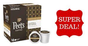 Peet's Coffee Guatemala San Marcos Medium Roast Coffee K-Cup Coffee Pods (32 Count) on Amazon