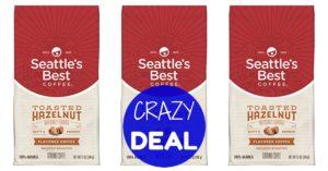 Seattle's Best Coffee Toasted Hazelnut on Amazon