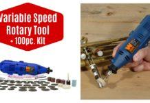 WEN Variable Speed Rotary Tool + 100pc. Kit on Amazon