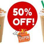 Starbucks Happy Hour Half Off