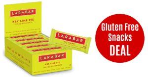 Larabar Key Lime gluten free snacks on Amazon