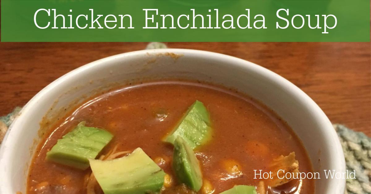 Chicken Enchilada Soup Facebook