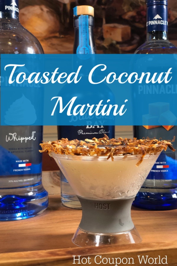 Toasted Coconut Martini
