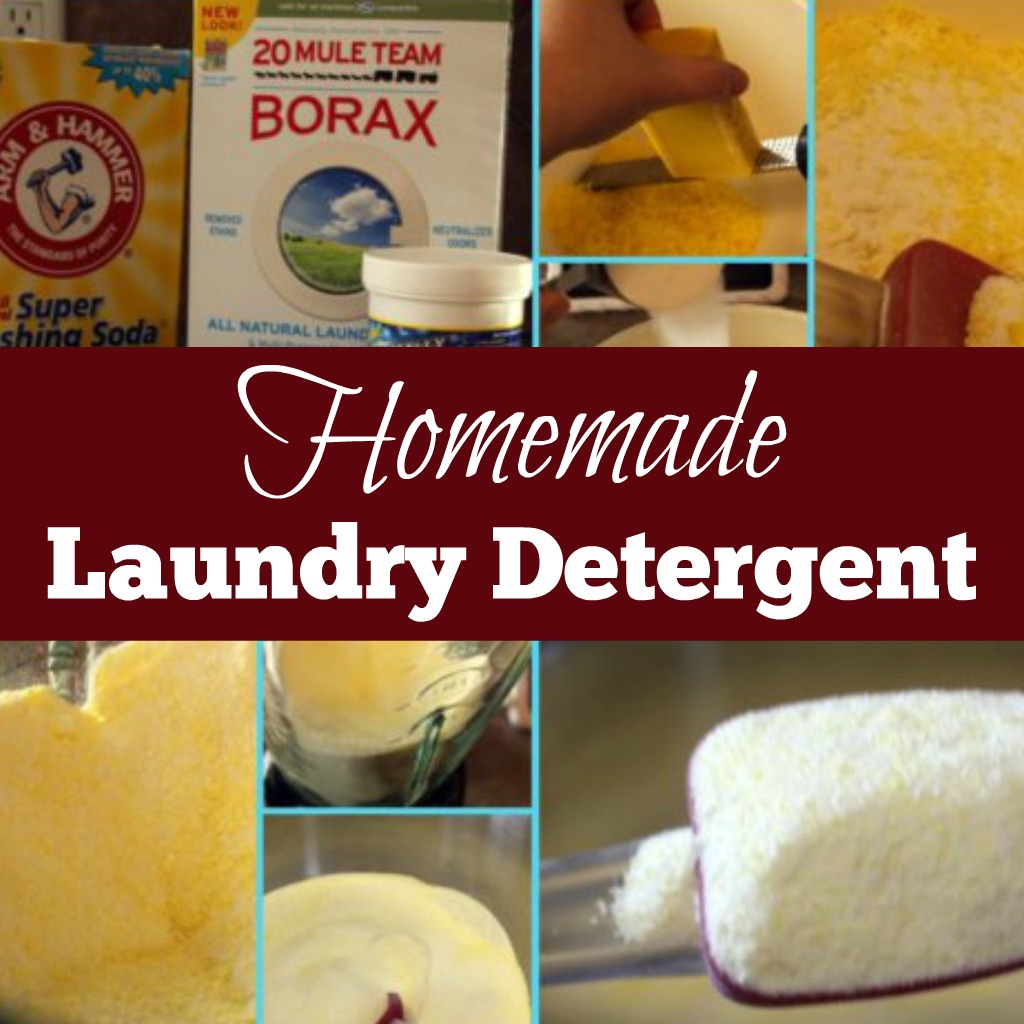 Homemade Laundry Detergent (DIY