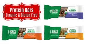 Health Warrior Pumpkin Seed Protein Bars on Amazon
