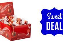 Lindt milk chocolate truffles 60 ct sale on Amazon