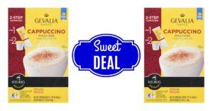 Gevalia Kaffe 2-Step Cappuccino on Amazon