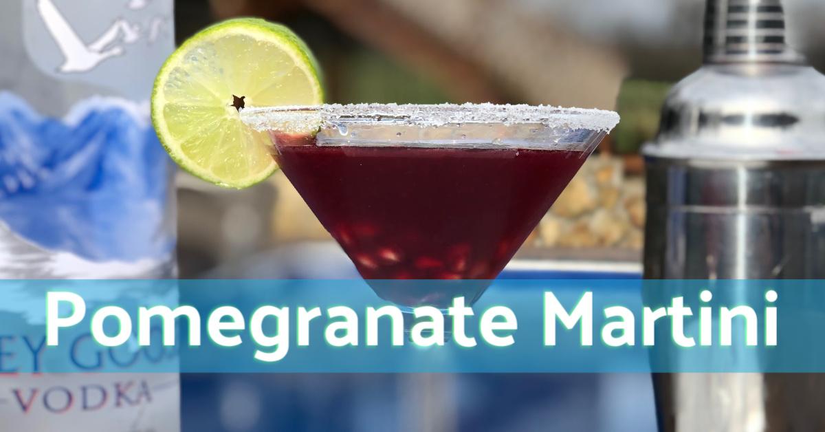 Pomegranate Martini Featured