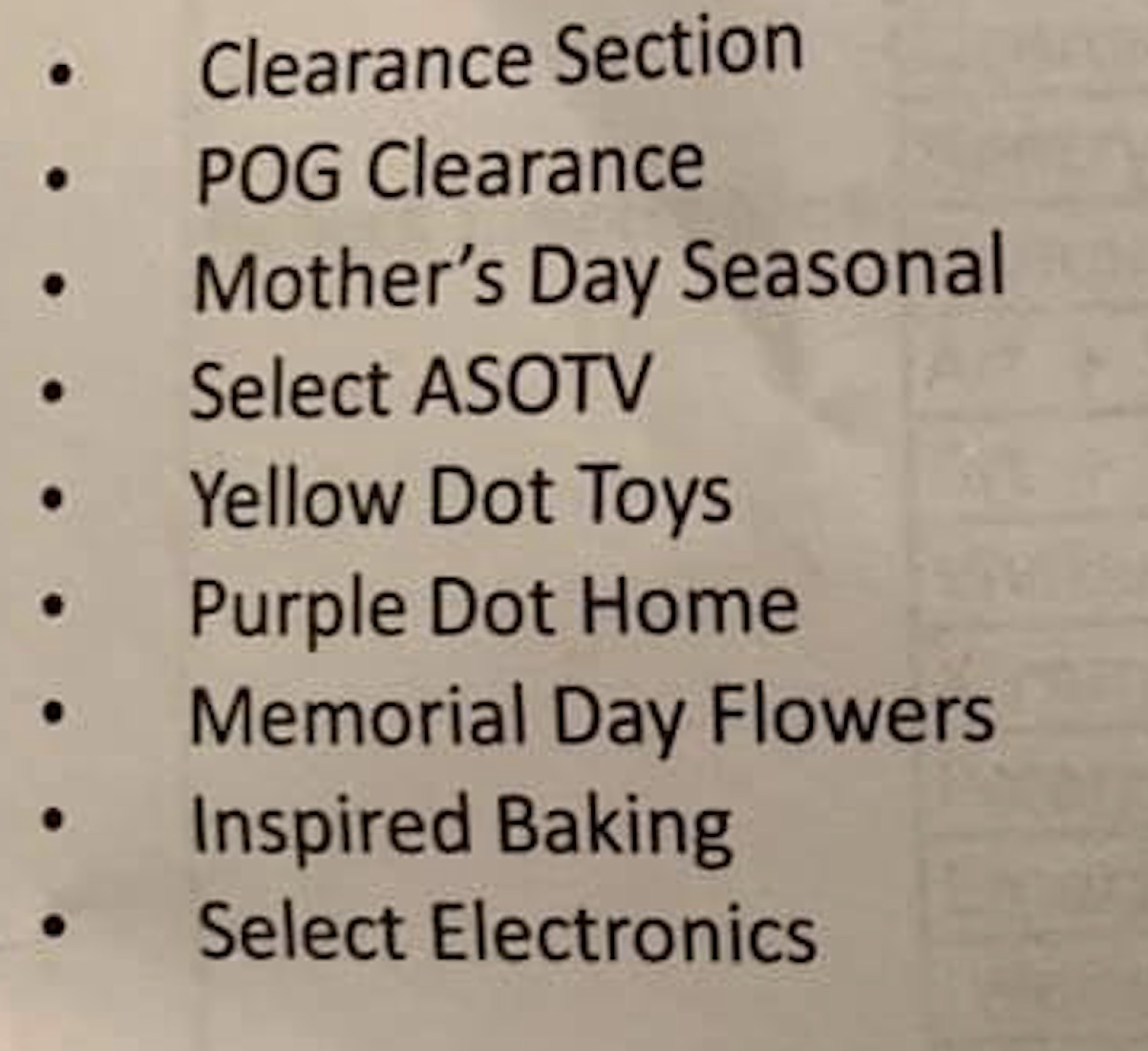 5/31 - 6/2 Dollar General Clearance Event