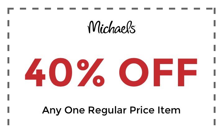 Michael S Coupons November 2020 40 Off 1 Regular Priced Item Coupon