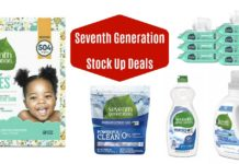 Seventh Generation Coupons Deals on Amazon