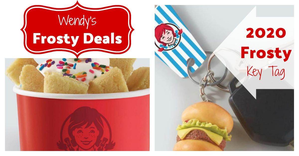 Wendy's Frosty® Key Fob & Cookie Sundae