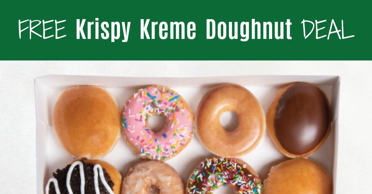 National Doughnut Day Krispy Kreme Free